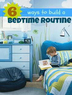 6 Ways to Build a Bedtime Routine | Tipsaholic.com #kids #bedtime #family