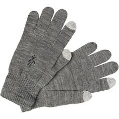 Smartwool Liner Knit Glove, can use your iPhone without taking them off!