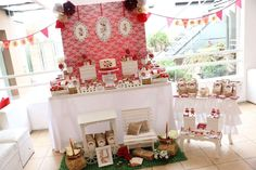 Loli candy bar's Birthday / sarah kay - Photo Gallery at Catch My Party Sara Kay, Baby Girl Baptism, Birthday Parties, Photo Galleries, Baby Shower, Table Decorations, Key, Irene, Sweet