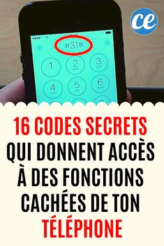 16 Secret Codes That Will Give You Access To Hidden Functions Of Your TV . 16 Codes Secrets Qui Te Donneront Accès à Des Fonctions Cachées de Ton Télé… 16 Secret Codes That Will Give You Access To Hidden Functions Of Your iPhone and Android Phone Iphone 4, Iphone Codes, Iphone Hacks, Smartphone Hacks, Android App Design, Android Art, Android Hacks, Android Phone, Android Watch
