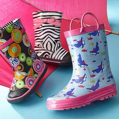 Cloudy With a Chance: Rain Boots