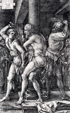 Albrecht Durer Paintings   Flagellation