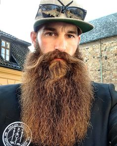 how to beard Badass Beard, Epic Beard, Beard No Mustache, Long Beard Styles, Hair And Beard Styles, Great Beards, Awesome Beards, Beard Tips, Moda Masculina
