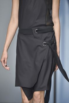 wgsn:  Industrialised detailing seen at @DamirDoma #SS15 collection. #PFW