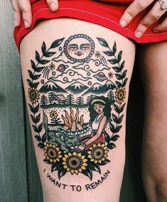 Traditional tattoo #ILoveTattoos!