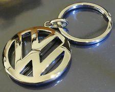 Volkswagen Logo VW Keychain Emblem (Metal Alloy Keyring, key chain, key fob)