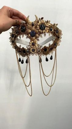 Face Jewellery, Hair Jewelry, Headdress, Headpiece, Fashion Accessories, Hair Accessories, Masquerade Ball, Fantasy Jewelry, Character Outfits