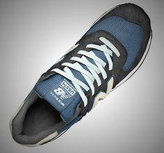 new balance US574 Steel Blue  http://www.facebook.com/DressShoesandSneaker  http://dressshoesandsneakers.tumblr.com/