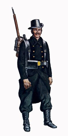 Infantryman, Regiment of the Carabinieri, Belgium, 1914.