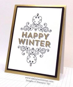 Wintertime, Stampin' Up!, Brian King, MM122