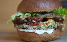 Zucchini Mushroom Veggie Burgers [Vegan, Gluten-Free].  This looks so good I can't wait to try it!