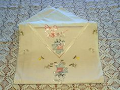 Vintage Linens for Baby
