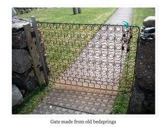 bedspring gate