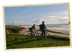 Walk or bike 10 mile coastal trail in Half Moon Bay, then go to Half Moon Bay Brewing Company