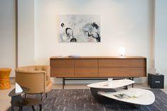 Porada, Walter Knoll & Bomat @ Samyn Wonen. Credenza, Double Vanity, Cabinet, Storage, Furniture, Home Decor, Art, Clothes Stand, Purse Storage