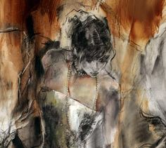 anna razumovskaya   Past. Present. Future 2   Painting by Anna Razumovskaya