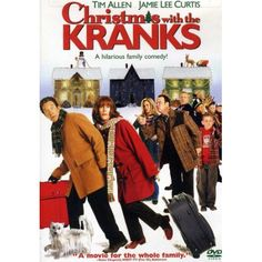 2005 Edition Christmas with the Kranks DVD Tim Allen Jamie Lee Curtis (Like New) Christmas With The Kranks, Funny Christmas Movies, Grinch Stole Christmas, Christmas Humor, Christmas Christmas, Holiday Movies, Tim Allen, Jamie Lee Curtis, Good Movies