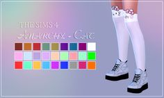 Lumy-sims Semller Buffalo Sneakers at Anarchy-Cat • Sims 4 Updates