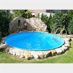 Hochwertige Stahlwandbecken für die private Wellnessoase: mediterraner Pool von POOLSANA GmbH & Co. KG