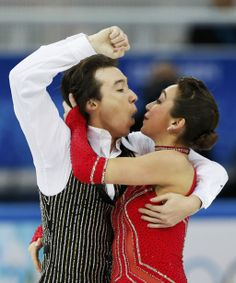 Cathy Reed and Chris Reed of Japan compete during the Team Ice Dance Short Dance at the Sochi 2014 Winter Olympics