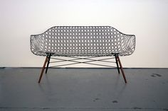 Matthew Strong Carbon fiber sofa Eames base