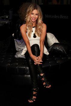 Jennifer Hawkins Photo - MBFFS 2012: MYER - Backstage. Need these shoes.
