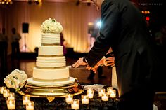Kristen Weaver Photography, Ballroom at Church Street, Party Flavors, cake angle