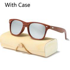 e140e52b1c6 Handmade Wood Sunglasses Men women square Sunglasses for men women Mirror  Wooden Sun Glasses Oculos de sol masculino 2017