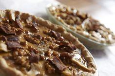 Bacon Maple Custard Pie. I'd make a lattice of bacon strips over the top.