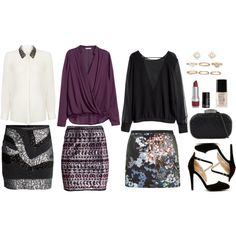 """""""Three Beautiful Looks For a Semi Casual Event"""" by ladylikecharm on Polyvore"""