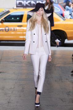 White on white by DKNY.