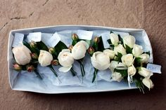 rose buttonhole