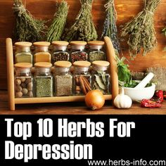 ❤ Top 10 Herbs For Depression ❤