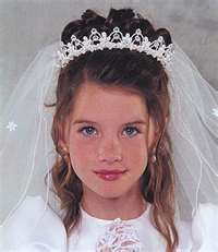 First Communion Hairstyles Long Hair
