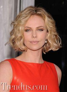 En güzel bob saç kesimleri / Charlize Theron