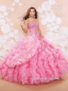 Two Pieces Mary's Quinceanera Dresses 2015 Fall Sweetheart Neck Rhinestones Mail Blue Pom Pom Organza Ball Gown Prom Gowns with Bolero from Nicedressonline,$291.94   DHgate.com