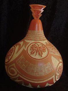 Gerri Gittings gourd art