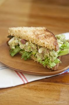 bacon avocado egg salad sandwich 2