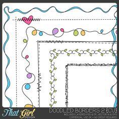 Doodle Borders 2 {CU}