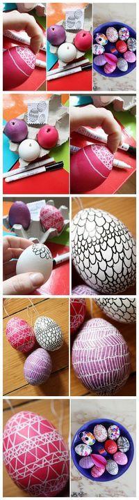 Ovos de Páscoa #Pascoa #ideias #inspiração #decoração #ovosdepascoa #Easter #ideas #inspiration #decor #eastereggs