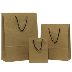 Grab Online Recycled Natural Brown Carrier Bags With Twisted Handles At Whole Prices From Uk On Rope