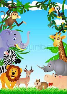 Safari cartoon