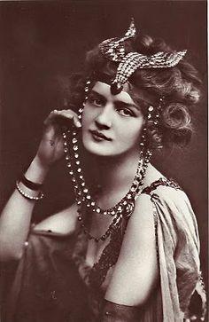 Creative Souls: Lily Elsie, le Belle Epoque Beauty no.3 in my series Beauties of le Belle Epoque