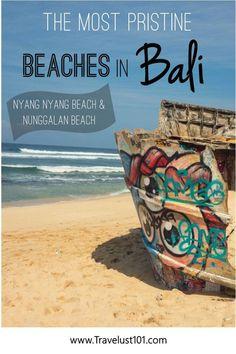 Nyang Nyang Beach: The Most Beautiful Hidden Beach in Bali – Travel 2020 Bali Travel Guide, Asia Travel, Travel Tips, Travel Advice, Travel Guides, Travel Goals, Wanderlust Travel, Travel Photos, Destin Beach