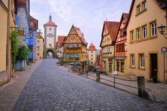 Nein, nicht Mittelalter! Mittelfranken. Rothenburg ob der Tauber, um genau zu sein.
