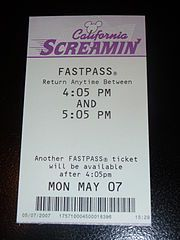 Part 2 — Fastpass Tips  1    FASTPASS is a system designed by Disney that allows you to reserve a place in the front of the line, a few hours in the future.Part 2 — Fastpass Tips  1    FASTPASS is a system designed by Disney that allows you to reserve a place in the front of the line, a few hours in the future.