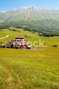 Old Hut, Majella, Abruzzi Royalty Free Stock Photo