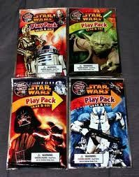 Star Wars Play Pack with Yoda for the loot bags.  It is basically a colouring book, crayons and stickers.