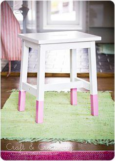Dipped stool ... tutorial