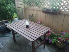 Quick & Easy Wooden Table Re-Finishing